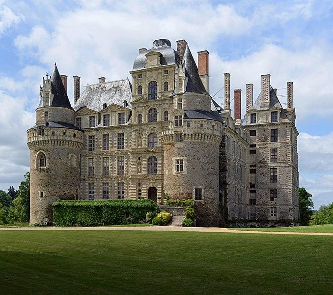 Château de Brissac, Maine-et-Loire, 2014.