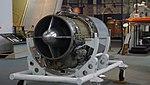 Bristol Siddeley Orpheus Mk.805 turbojet engine left front view at Kakamigahara Aerospace Science Museum November 2, 2014.jpg
