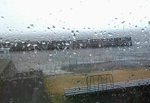 Britannia Yacht Club summer storm with view of on the pier.jpg