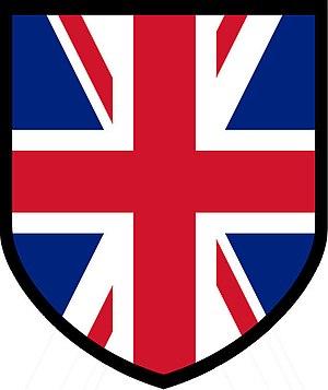 British Free Corps - Image: British Free Corps Armshield