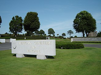 Brittany American Cemetery and Memorial - Entrance