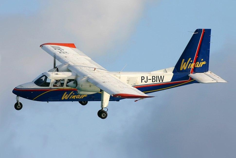 Britten-Norman BN-2A-26 Islander, Winair - Windward Islands Airways JP5823246