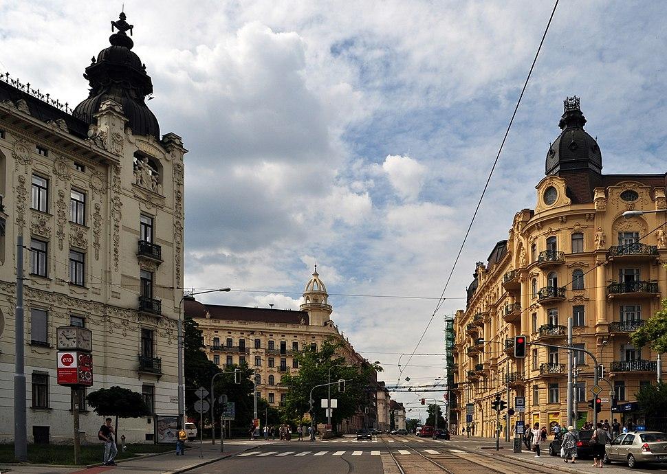 Brno - Konečného náměstí I