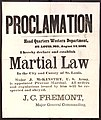 Broadside proclamation of martial law in the city and county of St. Louis by General Fremont, dated headquarters, Western Department, St. Louis, August 14, 1861.jpg