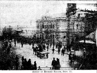 1892 Broken Hill miners' strike - Arrest of the Leaders September 15 1892