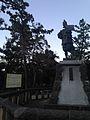 Bronze sculpture of Oda Nobunaga in Kiyosu Park.jpg