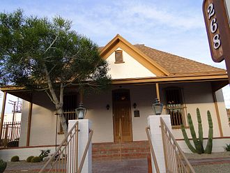 National Register of Historic Places listings in Yuma County, Arizona - Image: Brown House, Yuma, AZ