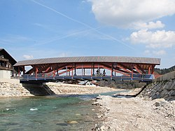 New Bridge in Eschenlohe