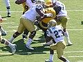 Bruins on offense at UCLA at Cal 2010-10-09 2.JPG