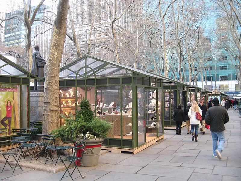 Cafe Nearby Bryant Park