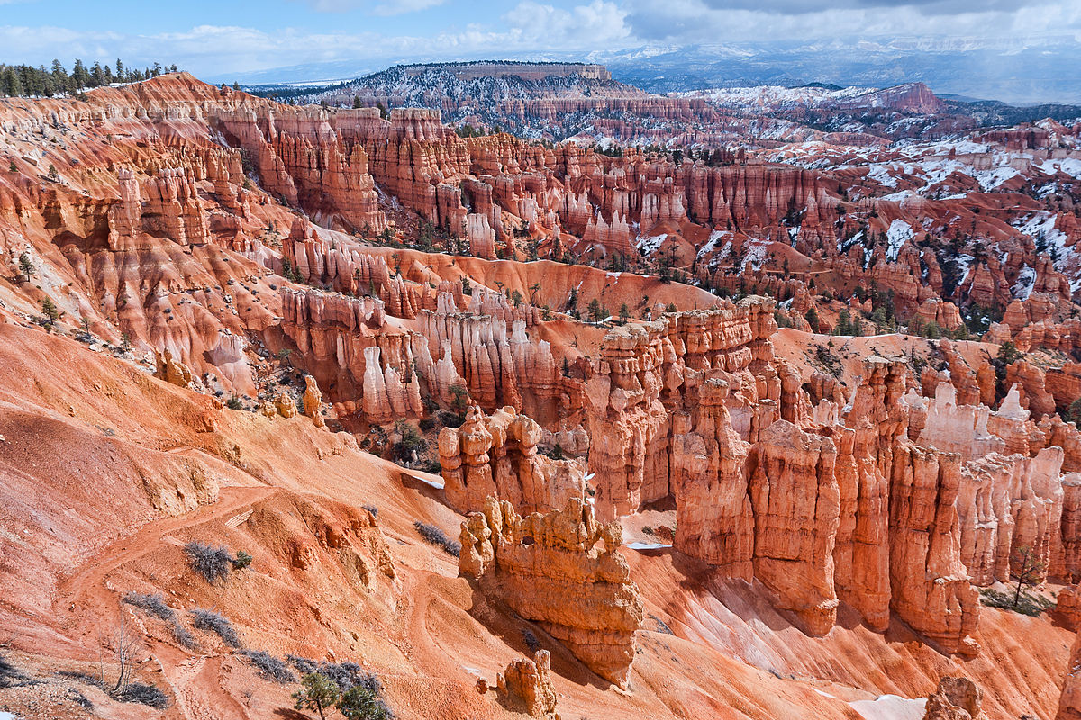 N rodn park bryce canyon wikipedie for Cabine vicino a bryce canyon