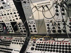 Don Buchla - Image: Buchla 100 @ NYU (closeup)