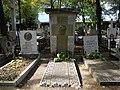 Bucuresti, Romania, Cimitirul Bellu Ortodox (Mormantul lui George Cosbuc - poet).JPG