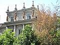 Bucuresti, Romania. Palatul Stirbei. Vegetatie si Cariatide.jpg