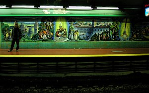 Scalabrini Ortiz (Buenos Aires Underground) - Image: Buenos Aires Subte Scalabrini Ortiz