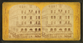 Building decorated with American flags, from Robert N. Dennis collection of stereoscopic views.png