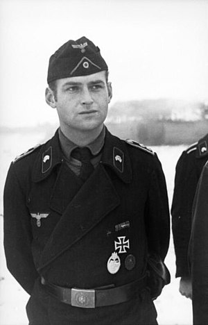 Oberfeldwebel, Panzer troops, 1941 - World War II German uniform