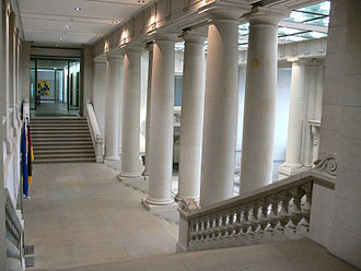 Landtag of Prussia - Herrenhaus, entrance hall
