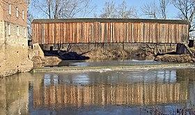 Burfordville Covered Bridge by Bollinger Mill near Jackson MO.jpg