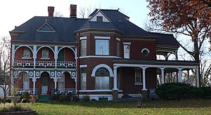 National Register of Historic Places listings in Fillmore County, Nebraska - Image: Burk House 4