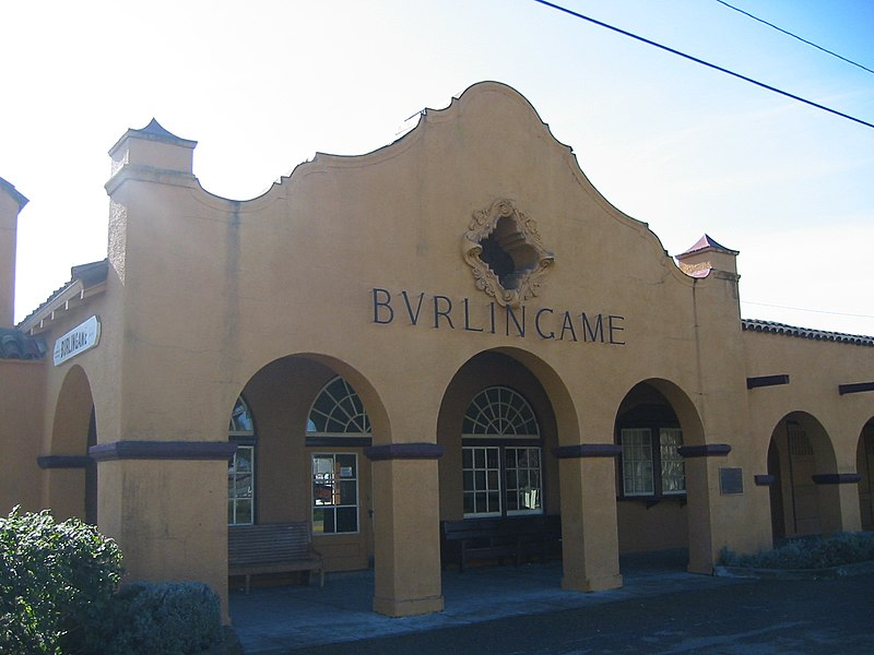 File:Burlingame caltrain station1.JPG