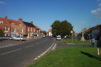Burnham Market - The village green