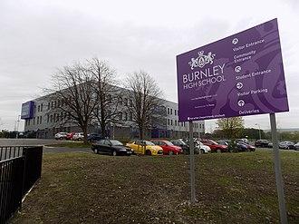 Burnley High School - Image: Burnley High School (geograph 5465594)