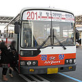 Busan express bus 201 20090220.jpg