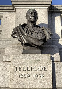 Bust of John Jellicoe in Trafalgar Square.jpg