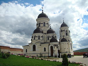 The Căpriana monastery in Moldova.