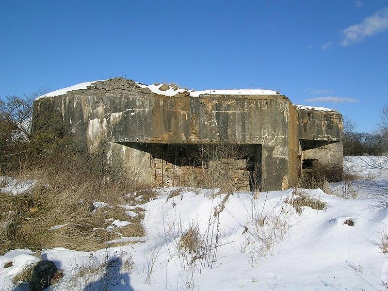 Bunker (ligne Maginot), Crusnes, France.