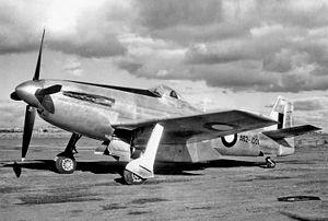 "Commonwealth Aircraft Corporation - The prototype CAC CA-15 ""Kangaroo"""