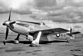 "Commonwealth Aircraft Corporation - The prototype CAC CA-15 ""Kangaroo"""