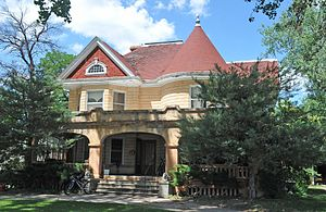 National Register of Historic Places listings in Butte County, South Dakota - Image: CHARLES BOLLES HOUSE, BELLE FOURCHE, BUTTE COUNTY, SD