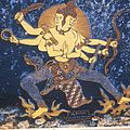 COLLECTIE TROPENMUSEUM Batik doek met een afbeelding van Vajrapani Dharmapala TMnr 20018446.jpg
