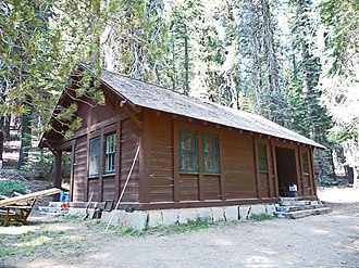 Cabin Creek Ranger Residence and Dormitory - Cabin Creek ranger residence