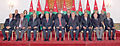 Cabinet with his Majesty King of Jordan King Abdullah II , Prime Minister Elnsour and Deputy amin Mahmoud and rest of cabinet.jpg