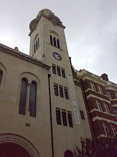 Cadogan Hall grade II listed concert hall in the United kingdom