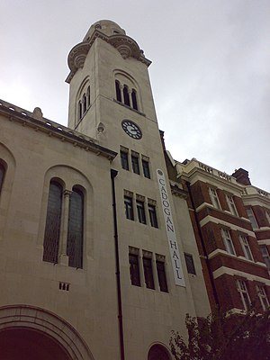 Cadogan Hall - The tower of Cadogan Hall