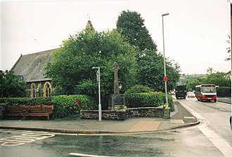 Caersws - Image: Caersws church