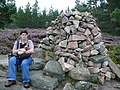 Cairn at the top - geograph.org.uk - 944039.jpg