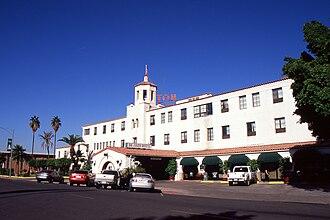 Calexico, California - Image: Calexico CA De Anza Hotel