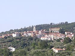 Panoramic view of Campora