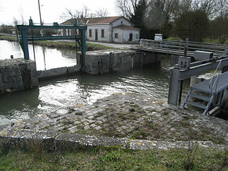 Andilly, Charente-Maritime - Locks of Andilly