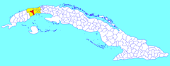 Candelaria (Cuban municipal map).png