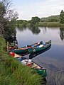 Canoes on the River Spey - geograph.org.uk - 1238417.jpg