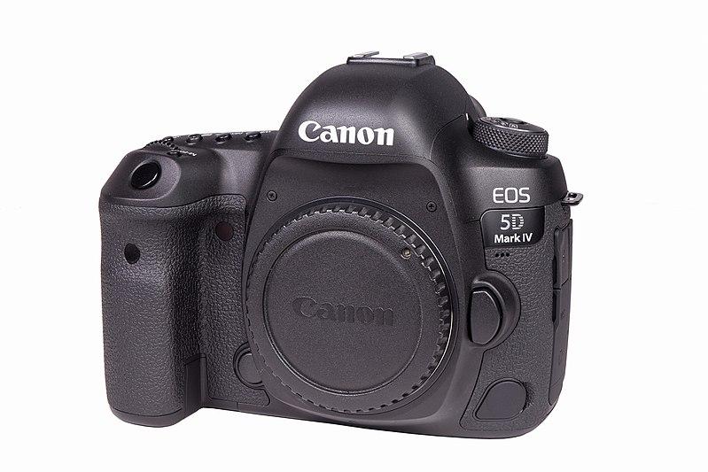 File:Canon EOS 5D Mark IV (Front), 1803241132, ako.jpg