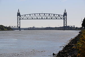 CapeFlyer - The Cape Cod Canal Railroad Bridge lets the CapeFlyer cross the canal independent of the two, often-congested, highway bridges.