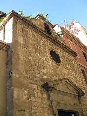 Barcelona Centre for International Affairs - Image: Capella dels Infants Orfes (I)