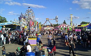 Northlands - The midway at the 2010 K-Days